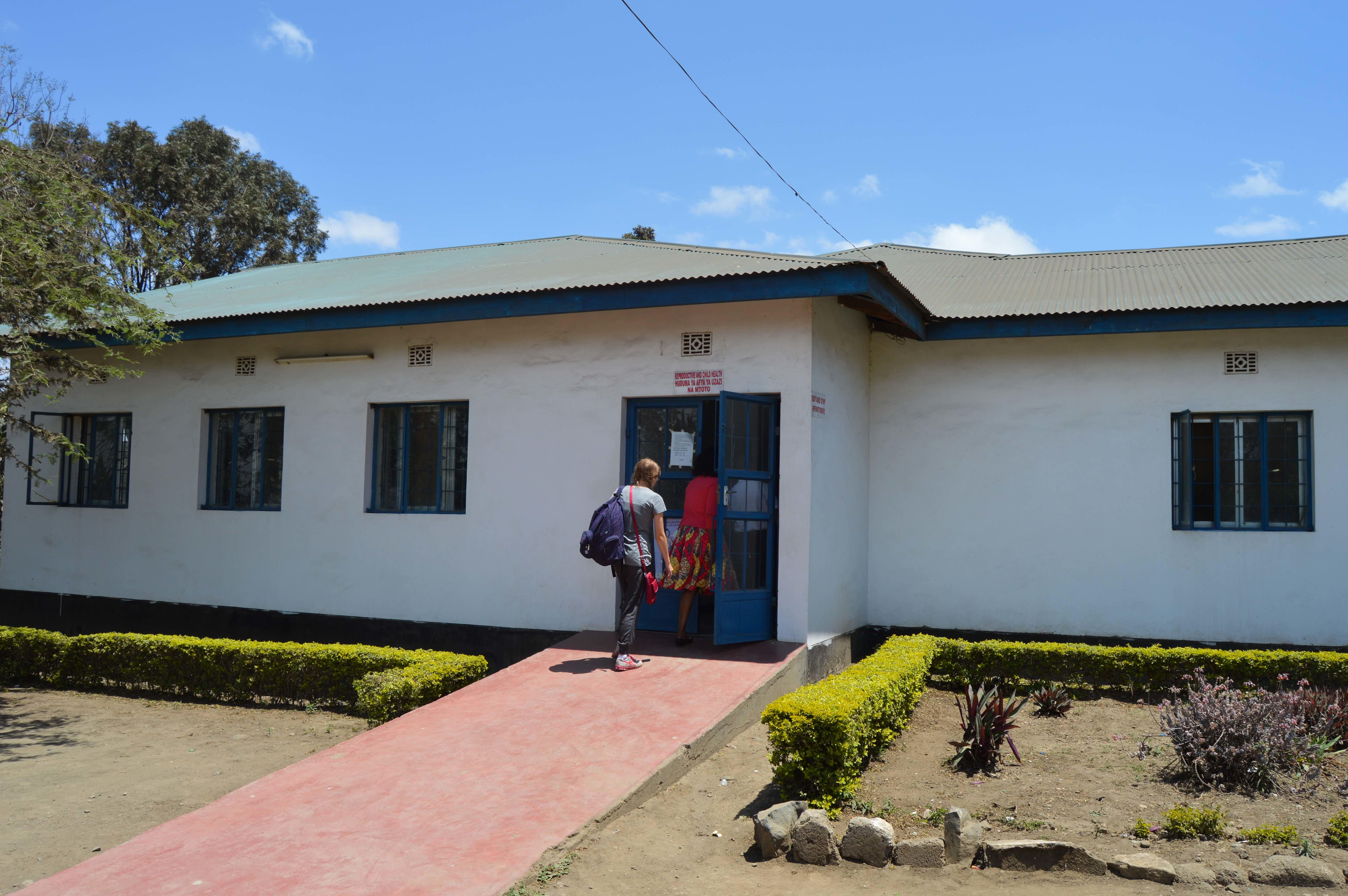 Projects Abroad intern pictures the local maternity hospital she will be working in during her midwifery internship in Tanzania.